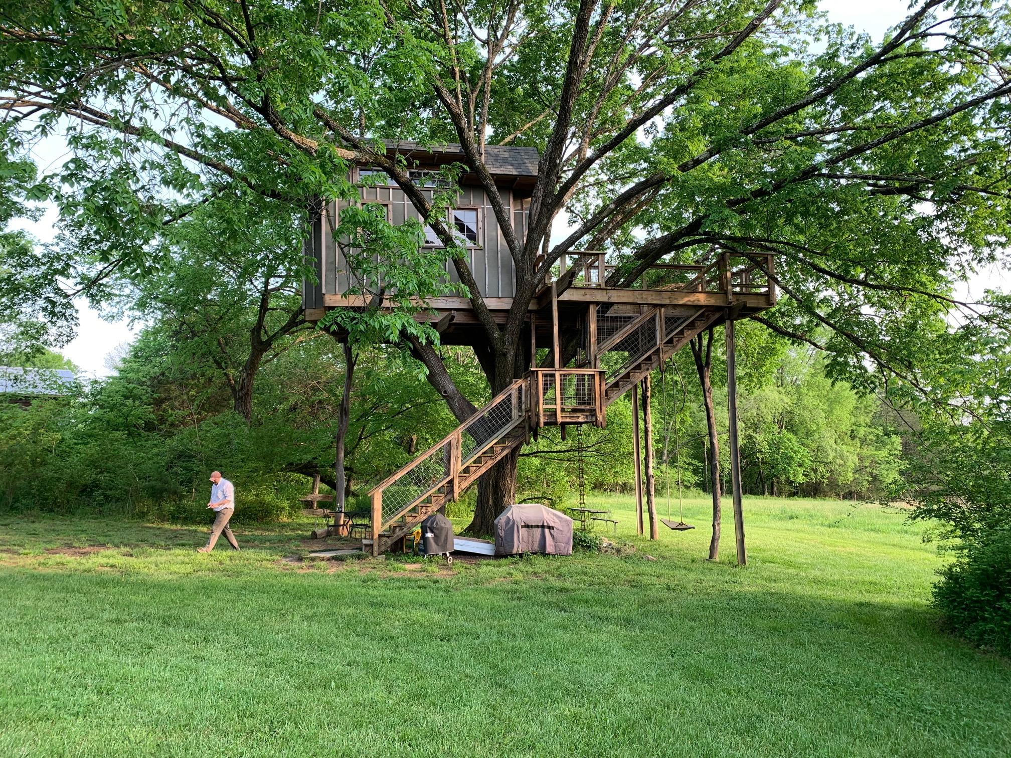 Slippery Elm Treehouse