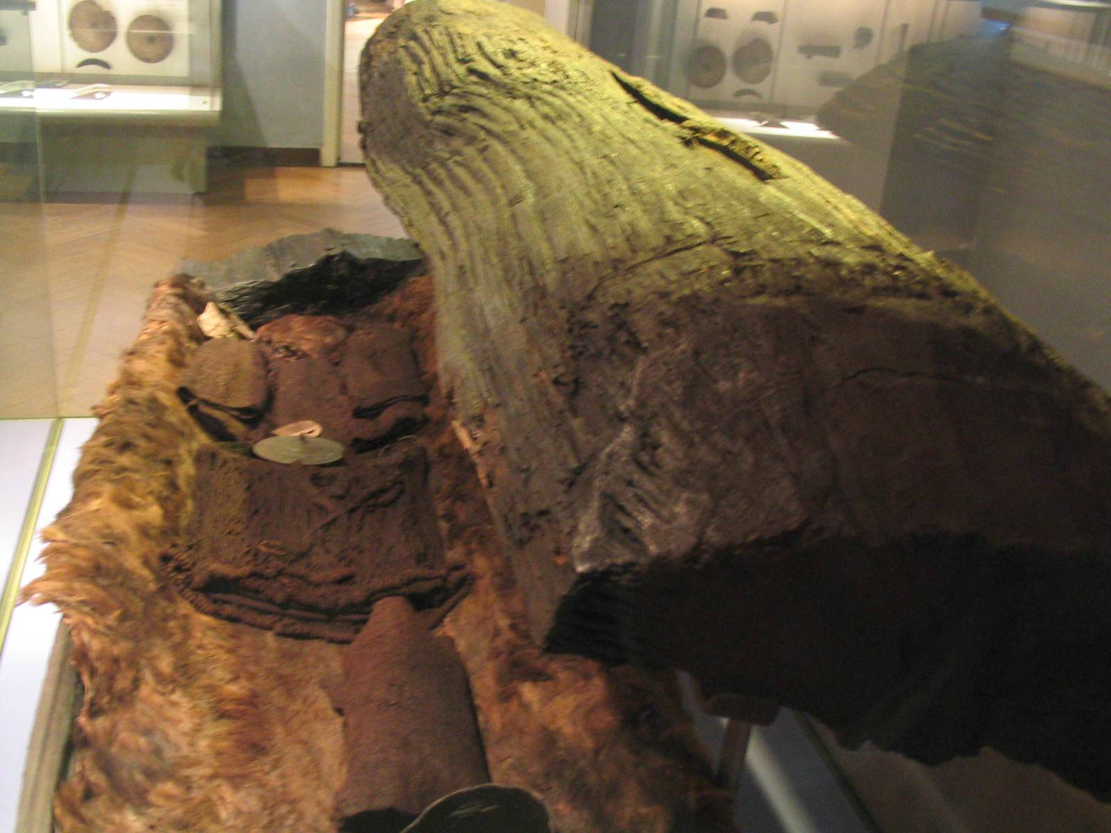 4,000-Year-Old Tree Trunk Coffin Discovered in Golf Course Pond